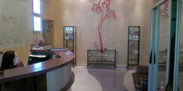 Внутренняя отделка помещения салона красоты