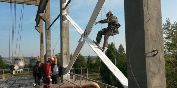 Услуги промышленных альпинистов