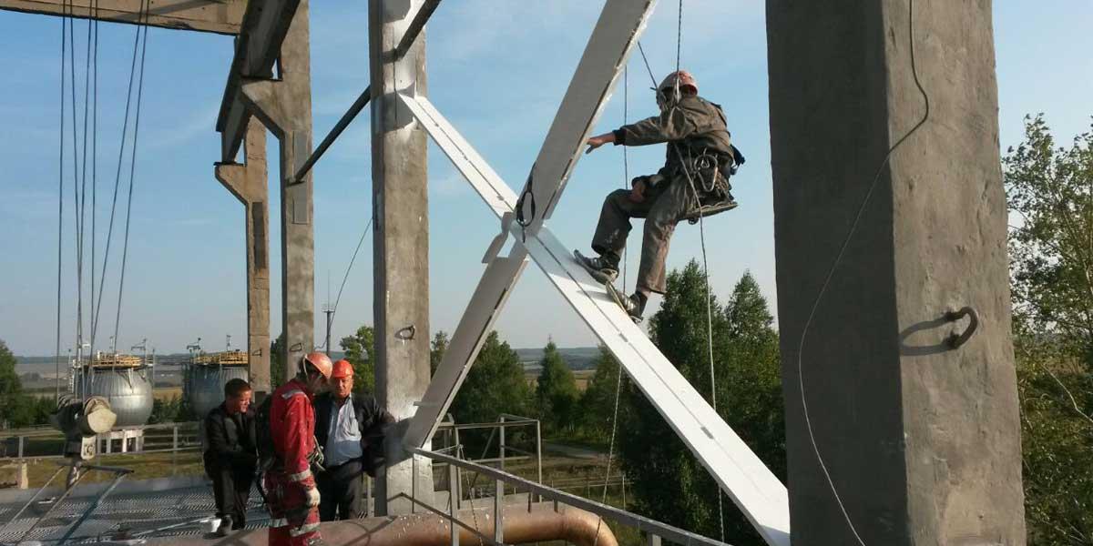 Расценки на промышленный альпинизм